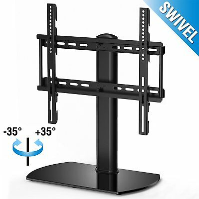 Fitueyes Universal TV Stand Base Swivel Tabletop TV Stand mount for 32 in to 50