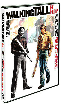 Walking Tall The Trilogy Set 3 DVD Complete Box Full