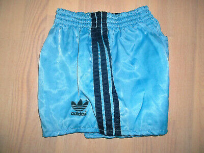 rare vintage 80s ADIDAS NYLON sprinter shorts shiny glanz pants oldschool D128
