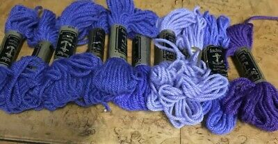 7 Anchor Tapestry Wool In Viiolet