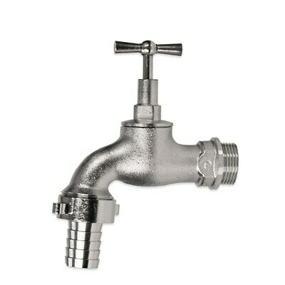 GEKA Outside Tap with Hose Tail Connector - 1""