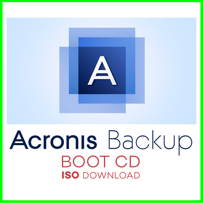 Acronis True Image BOOT CD ISO 2010 - 2019 ✔️ 5 versions ✔️ Download