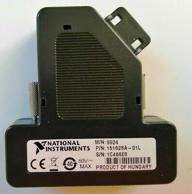 National Instruments NI 9924 Front Mount Screw Terminal Block for 25-Pin D-SUB