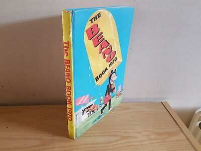 THE BEANO BOOK 1970 vintage comic annual -