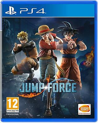 Jump Force - Playstation 4 Ps4 - New & Sealed - Free Uk Post - In Stock Now!!!