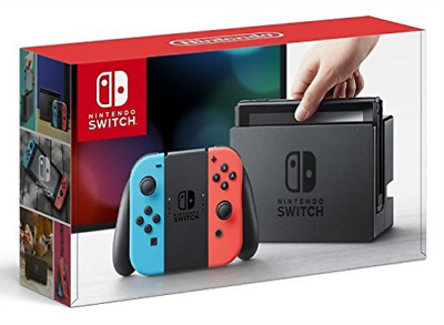 Nintendo Switch Console With Neon Red & Blue Joy-Con Eu Game Nuevo