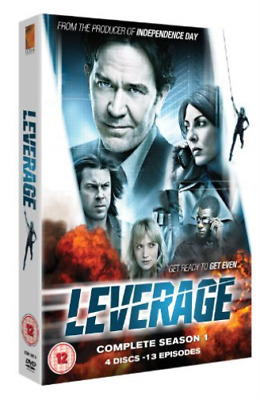 Timothy Hutton, Gina Bellman-Leverage: Complete Season 1 DVD NEUF