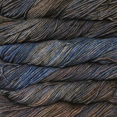 "Malabrigo Rios ""Cielo y Tierra (894)"" Superwash Merino Knitting Yarn Wool 100g"