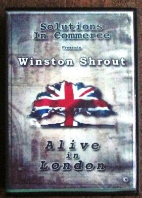 Winston Shrout Solutions in Commerce Alive in London Seminar 8 DVD Set