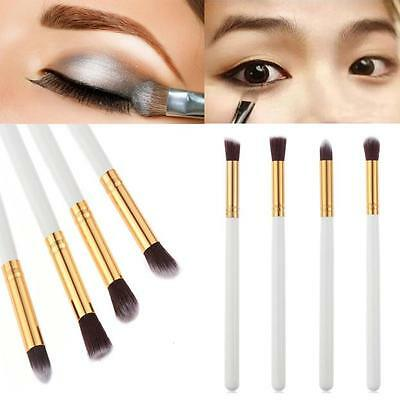 4Pcs Makeup Cosmetic Tool Eyeshadow Powder Foundation Blending Brush Set New