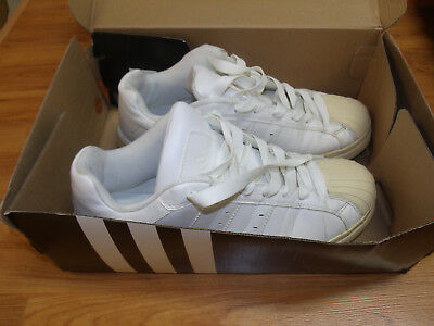 adidas Superstar II G17071 Size 12 M White Leather SNEAKERS Walking Mens Shoes