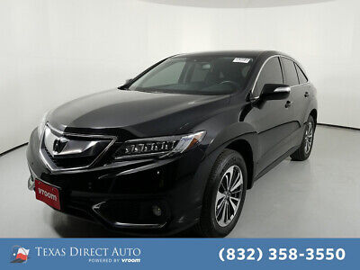 2016 Acura RDX Advance Pkg Texas Direct Auto 2016 Advance Pkg Used 3.5L V6 24V Automatic AWD SUV Premium