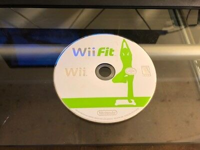 Wii Fit (Nintendo Wii, 2008) WORKS / NO TRACKING / DISC ONLY