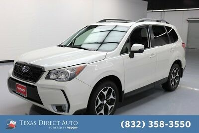 2014 Subaru Forester 2.0XT Touring Texas Direct Auto 2014 2.0XT Touring Used Turbo 2L H4 16V Automatic AWD SUV