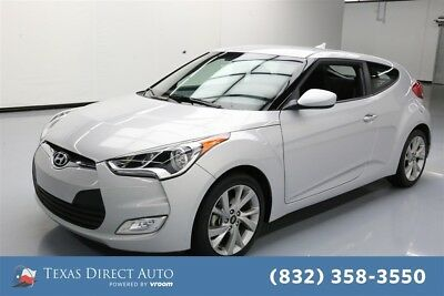 2017 Hyundai Veloster 3dr Coupe DCT w/Black Seats Texas Direct Auto 2017 3dr Coupe DCT w/Black Seats Used 1.6L I4 16V Automatic