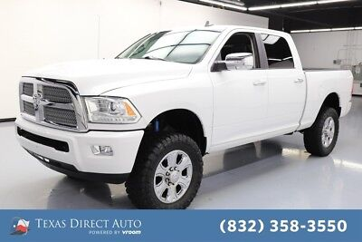 2014 Ram 2500 Longhorn Limited Texas Direct Auto 2014 Longhorn Limited Used 6.4L V8 16V Automatic 4WD Pickup