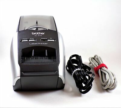 Brother QL-570 Professional Thermal Label Printer With Labels & Cables