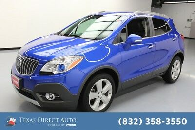 2016 Buick Encore Convenience Texas Direct Auto 2016 Convenience Used Turbo 1.4L I4 16V Automatic FWD SUV