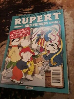 RUPERT AND FRIENDS - MARVEL COMIC No 39 - 1st may 93