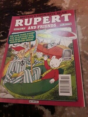 RUPERT AND FRIENDS - MARVEL COMIC No 40 - 14th may 93