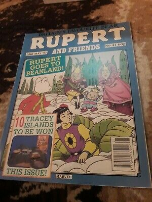 RUPERT AND FRIENDS - MARVEL COMIC No 41 - 28th may 93