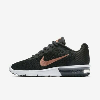 712ab6cdd9c Nike Air Max Sequent 2 Womens Formateur en Cours D Exécution Chaussure  Taille 4