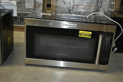 Kitchenaid Kmhs120ess 30 Stainless Over The Range Microwave Nob