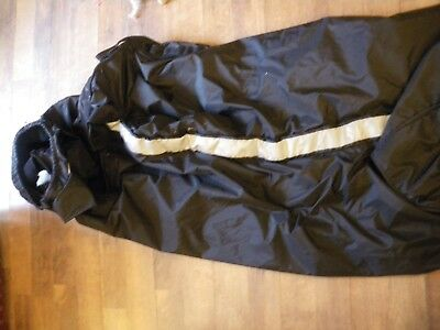 Extrication stretcher, Emergency, straps, carrying handles black fleeced lined