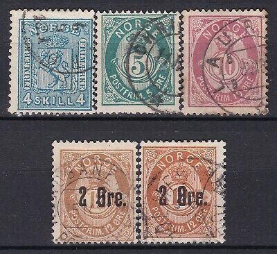 Norway no 14, 42, 43a, 48 II and II.