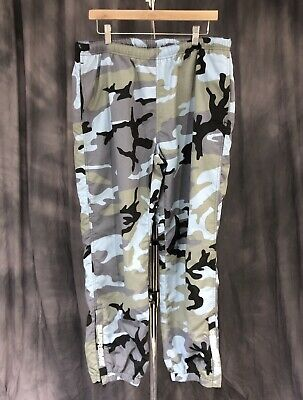 21357b4a2ca98 SUPREME WARM UP Pants (SS18) Blue Camo LARGE L - $180.00 | PicClick