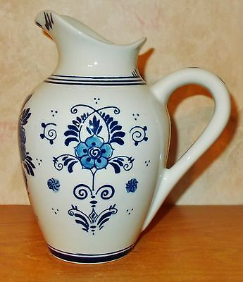 """BOLS Delft Blue Pitcher - Made in Holland - 6"""" tall"""