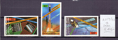 ! Djibouti 1984. MNH Imperforated Stamp. YT#A219/221. €40.00 !