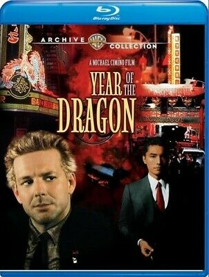 Year Of The Dragon [New Blu-ray] Manufactured On Demand, Subtitled, Amaray Cas