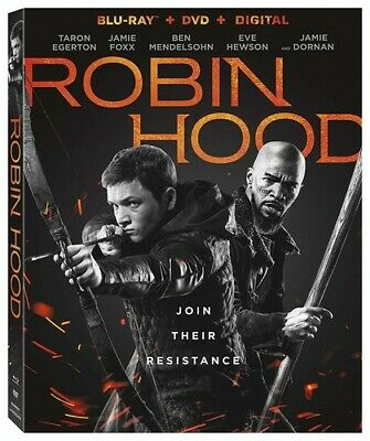 Robin Hood [New Blu-ray] With DVD, 2 Pack