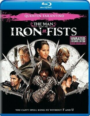 The Man With The Iron Fists [New Blu-ray] Extended Ed, Unrated