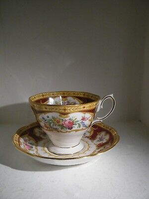 Royal Albert Lady Hamilton Tea Cup And Saucer