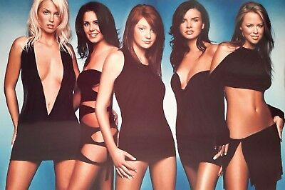 "GIRL'S ALOUD GIRL GROUP SINGERS 7x5"" PICTURE PRINT WALL ART"