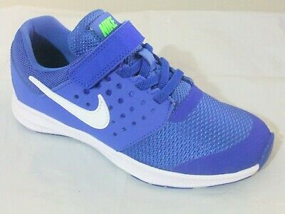 f9556ec5774 Nike Downshifter 7 Boys Shoes Trainers Uk Size 10 - 2.5 Strap Up 869970 402