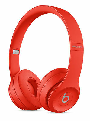 Authentic Beats by Dr. Dre Solo3 Wireless Headband Headphones-(PRODUCT) RED
