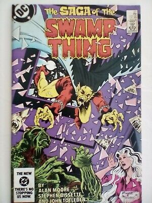 SWAMP THING #27 - DC Comics - 1984 - GOOD CONDITION