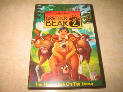 Brother Bear 2 (DVD, 2006) - English/French/Spanish **READ**