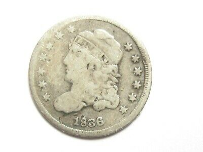 1836 Capped Bust Half Dime - #5417