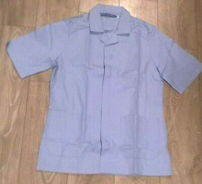 Mens sky blue medical healthcare NHS, hospital Dentist  tunic NEW Boyd Cooper
