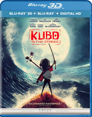 Kubo and the Two Strings (3D + Blu-ray + Digit New Blu