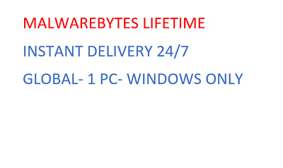 Malwarebytes Anti-Malware Premium Licence Key INSTANT DELIVERY