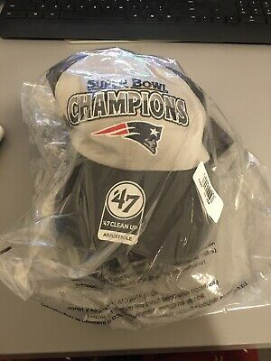 Patriots Super Bowl 53 Champions Hat New
