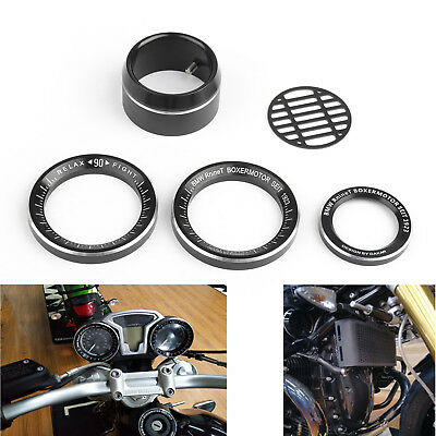 Techometer Speedometer Ring Cover Air Intake Trim Pour BMW R NINE T 14-16 BS7.