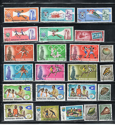 Togo  Africa Stamps   Used  Lot  39132