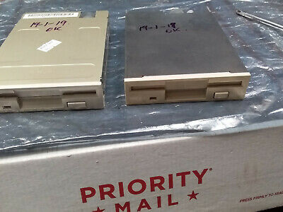 """TWO 1.44MB 2.5"""" Internal Floppy Drives Tested in Working Condition"""