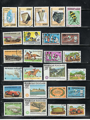 Togo  Africa Stamps   Used   Lot  39196